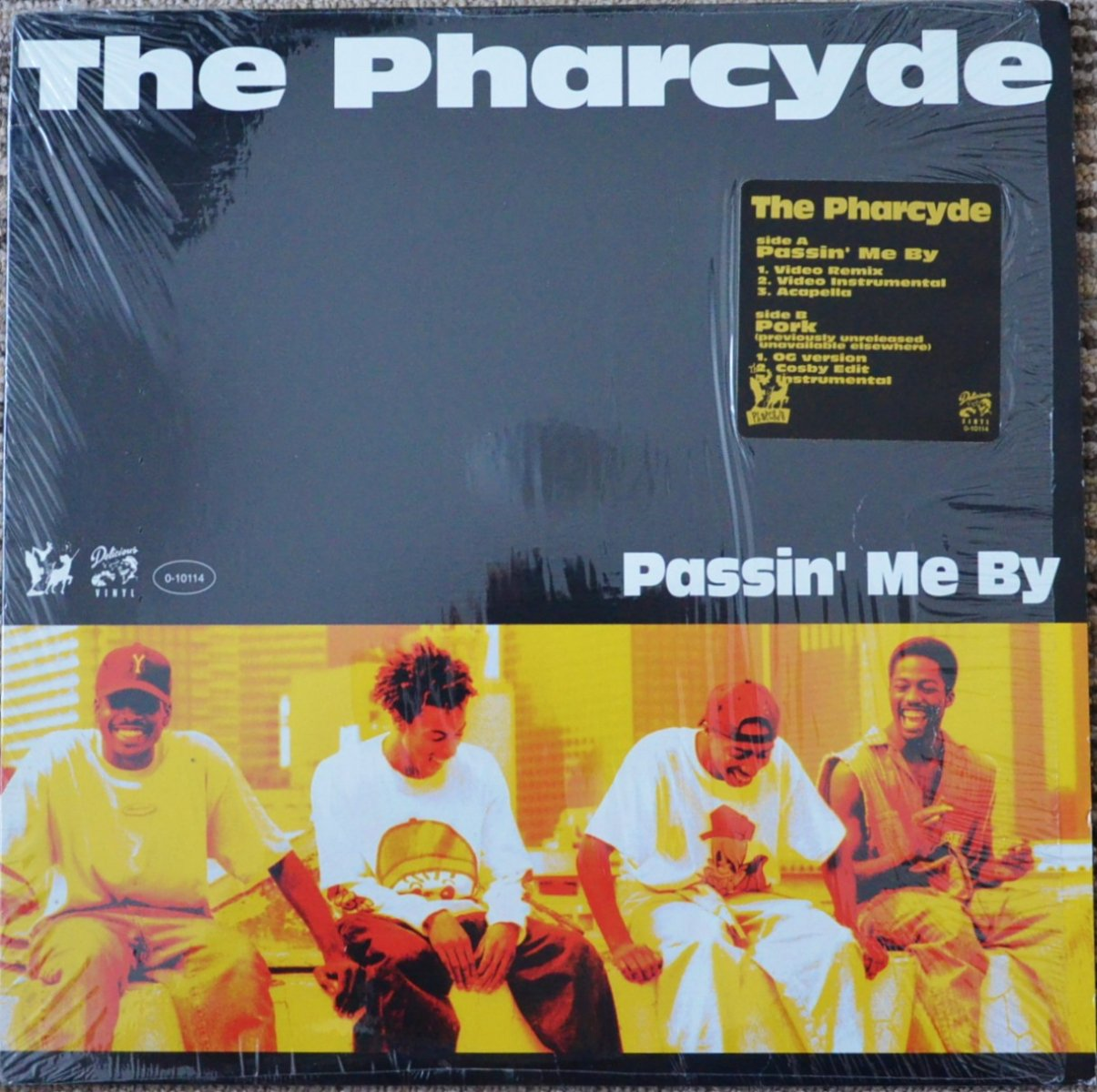 THE PHARCYDE ‎/ PASSIN' ME BY / PORK (12