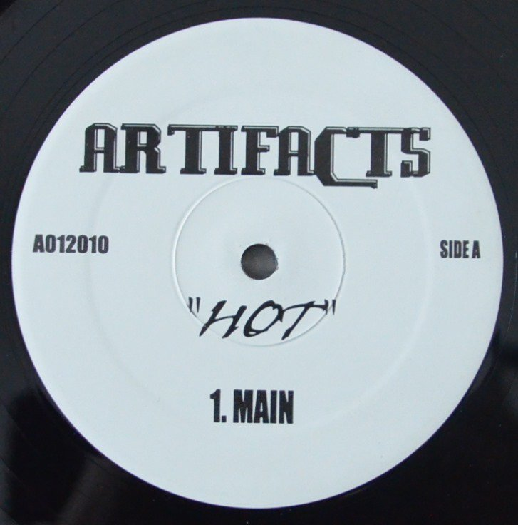 ARTIFACTS ‎/ HOT (PROD BY K-DEF) (12