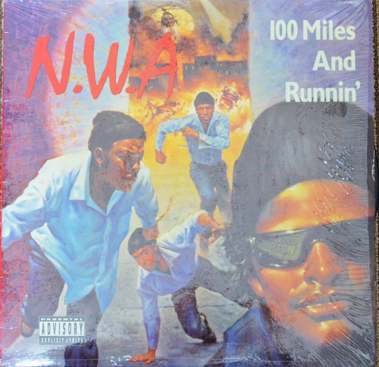 N.W.A / 100 MILES AND RUNNIN' (12