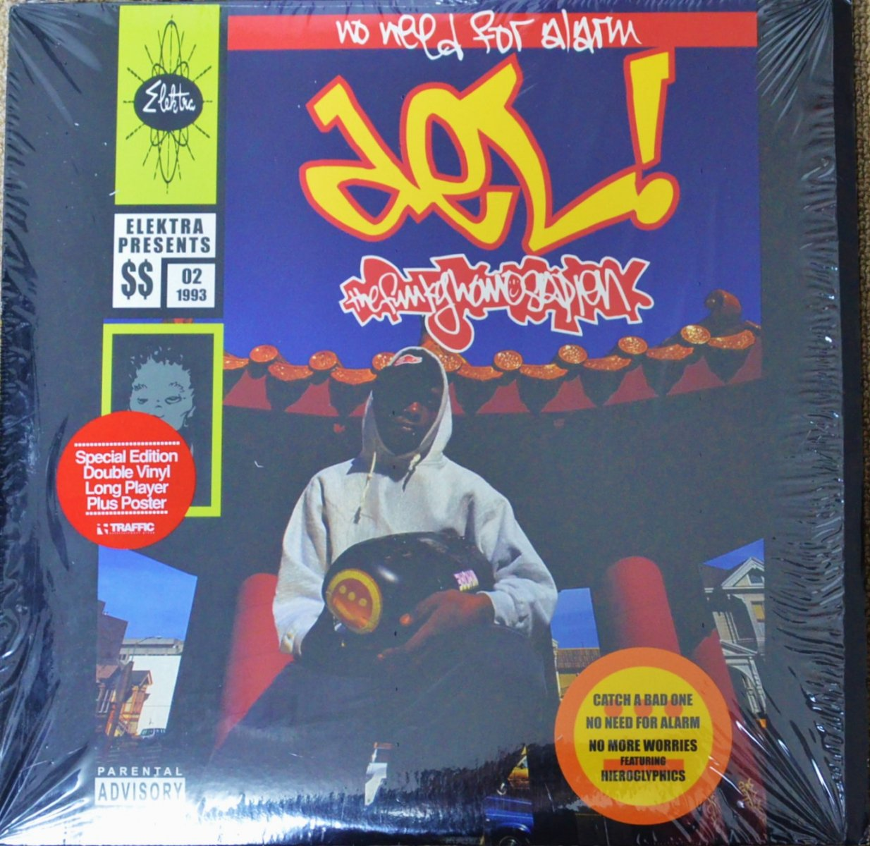 DEL THA FUNKEE HOMOSAPIEN ‎/ NO NEED FOR ALARM (2LP)
