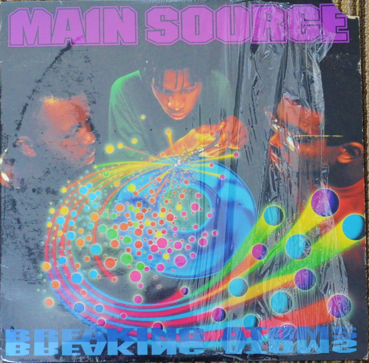 MAIN SOURCE ‎/ BREAKING ATOMS (1LP)