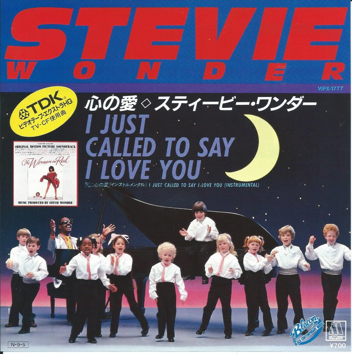 スティービー・ワンダー STEVIE WONDER / 心の愛 I JUST CALLED TO SAY I LOVE YOU (7