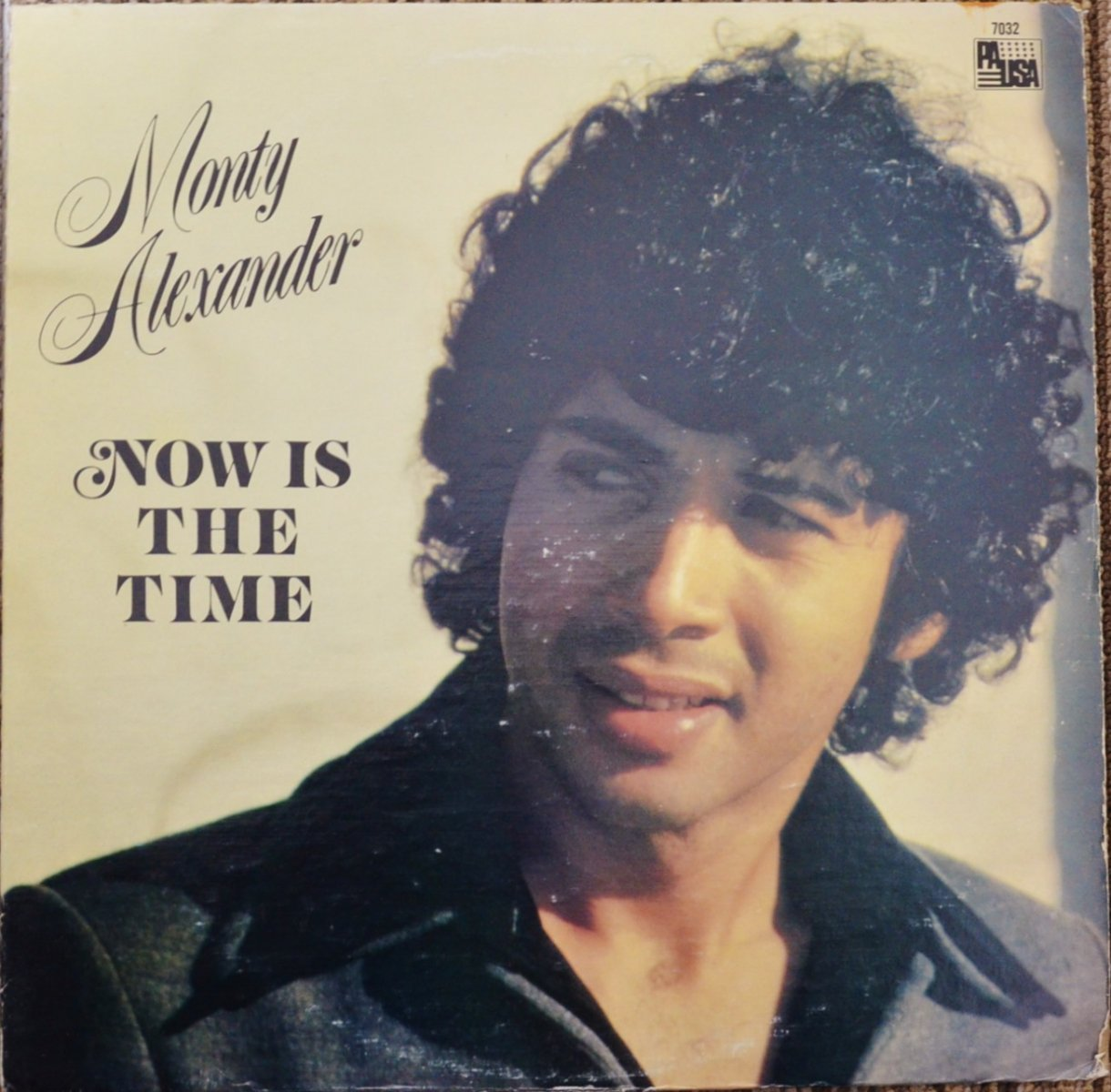 MONTY ALEXANDER ‎/ NOW IS THE TIME (LP)