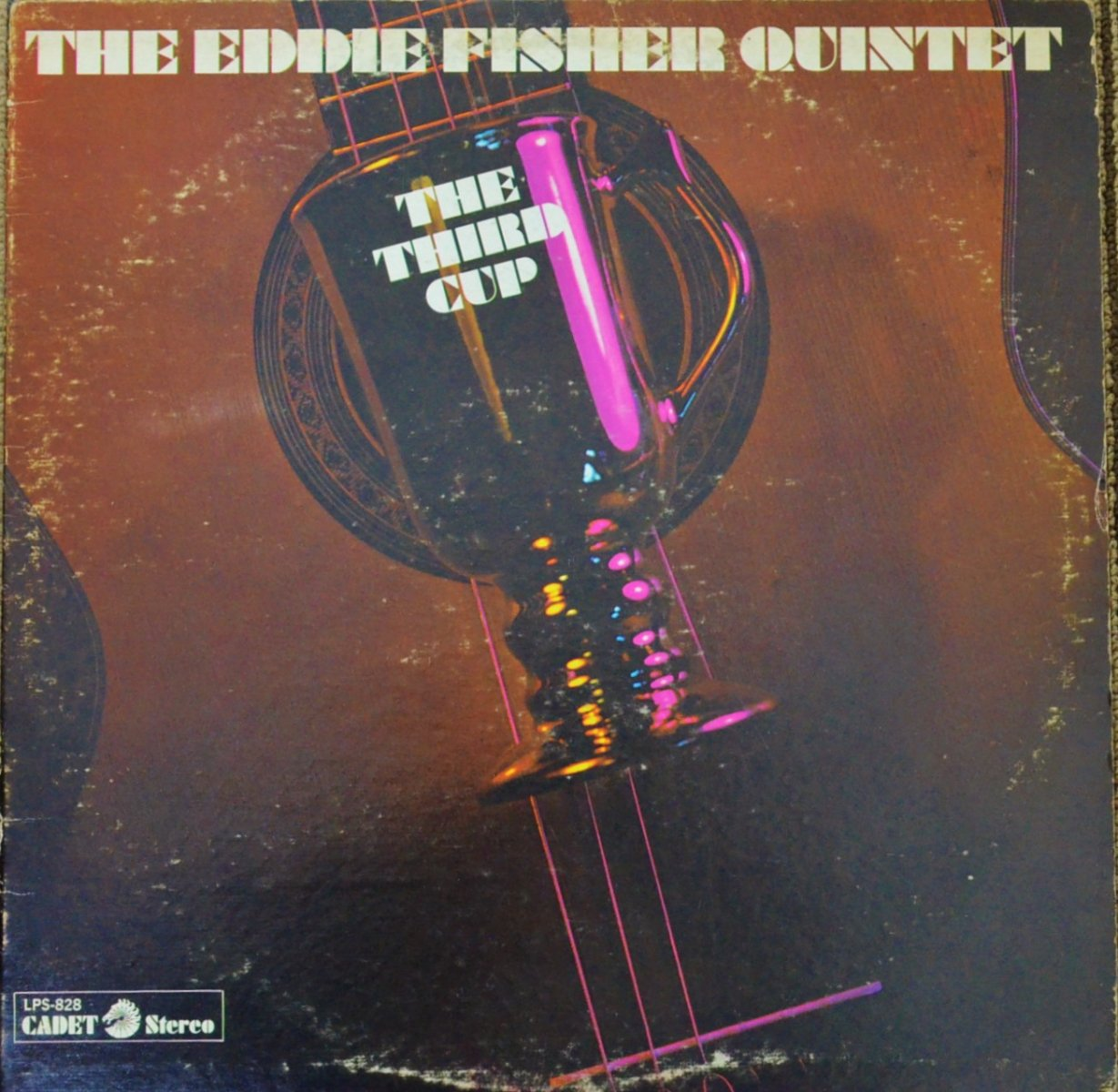 THE EDDIE FISHER QUINTET / THE THIRD CUP (LP)