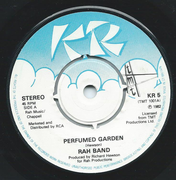 RAH BAND ‎/ PERFUMED GARDEN / FUNK ME DOWN TO RIO '82 (7
