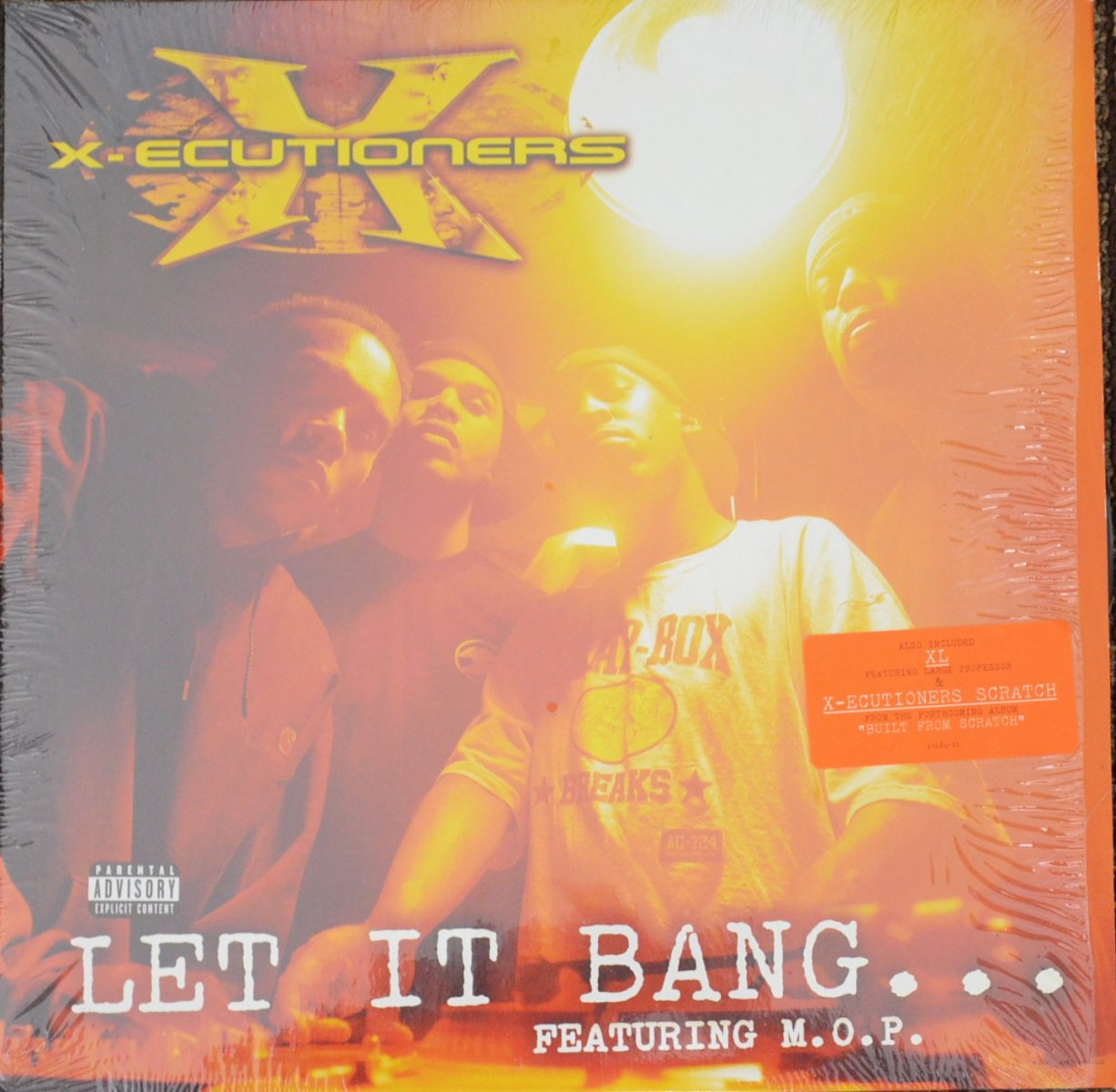 THE X-ECUTIONERS FEATURING M.O.P. ‎/ LET IT BANG / XL (PROD BY LARGE PROFESSOR) (12