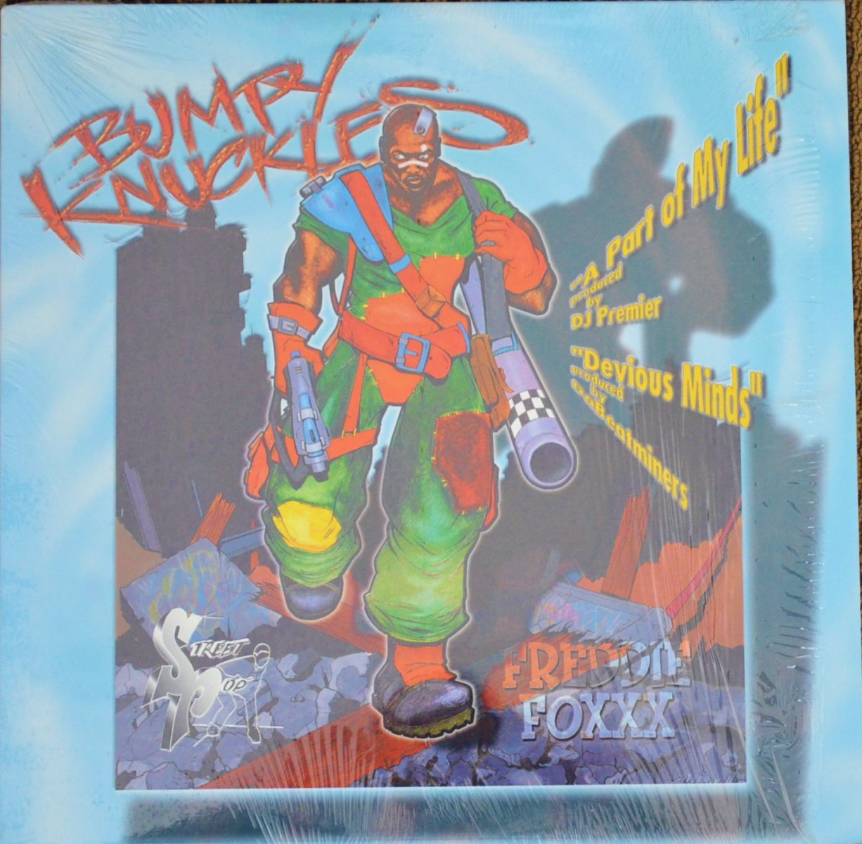 BUMPY KNUCKLES / A PART OF MY LIFE (PROD BY DJ PREMIER) / DEVIOUS MINDS (PROD BY BEATMINERZ) (12