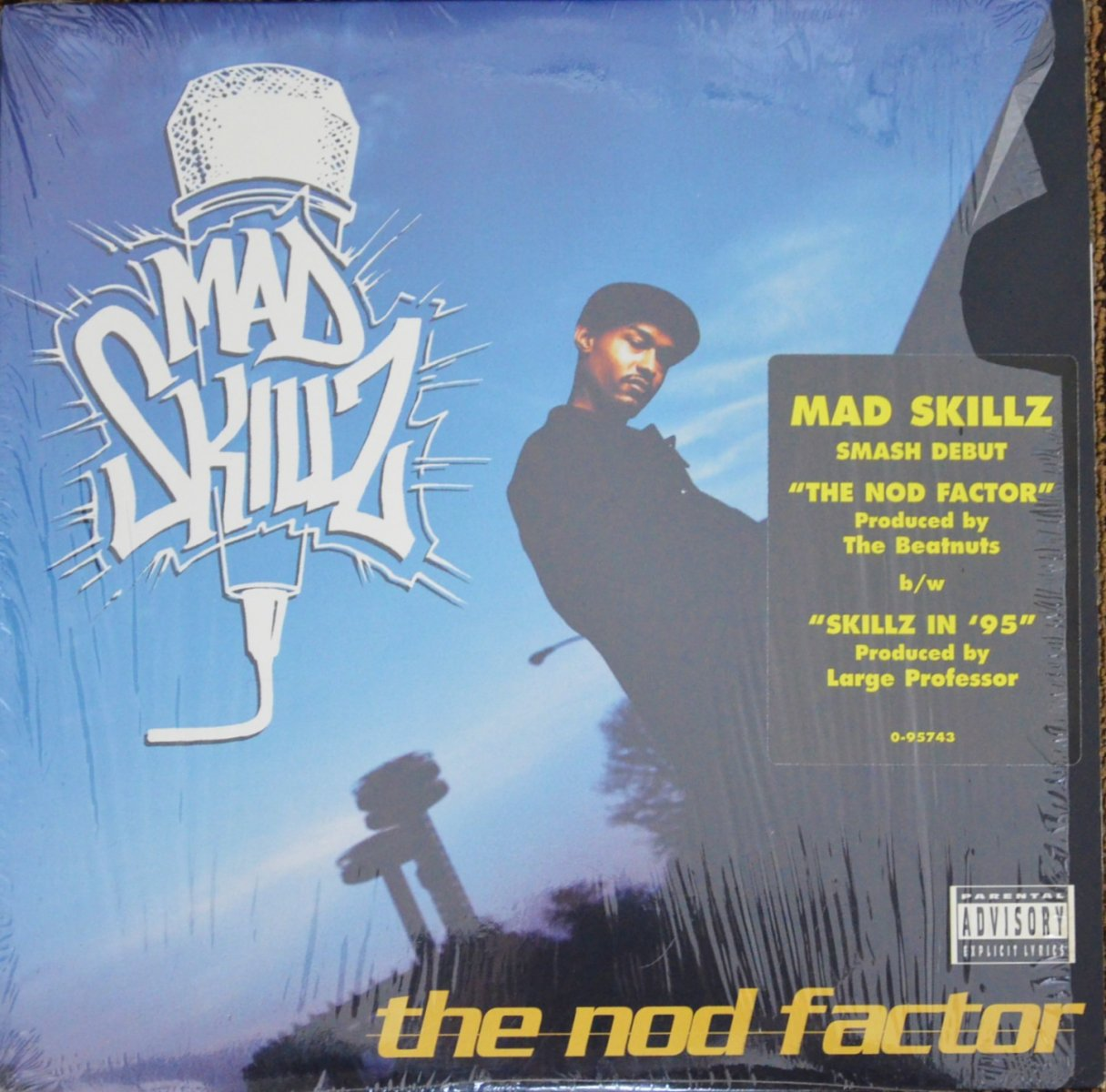 MAD SKILLZ / THE NOD FACTOR / SKILLZ IN '95 (12