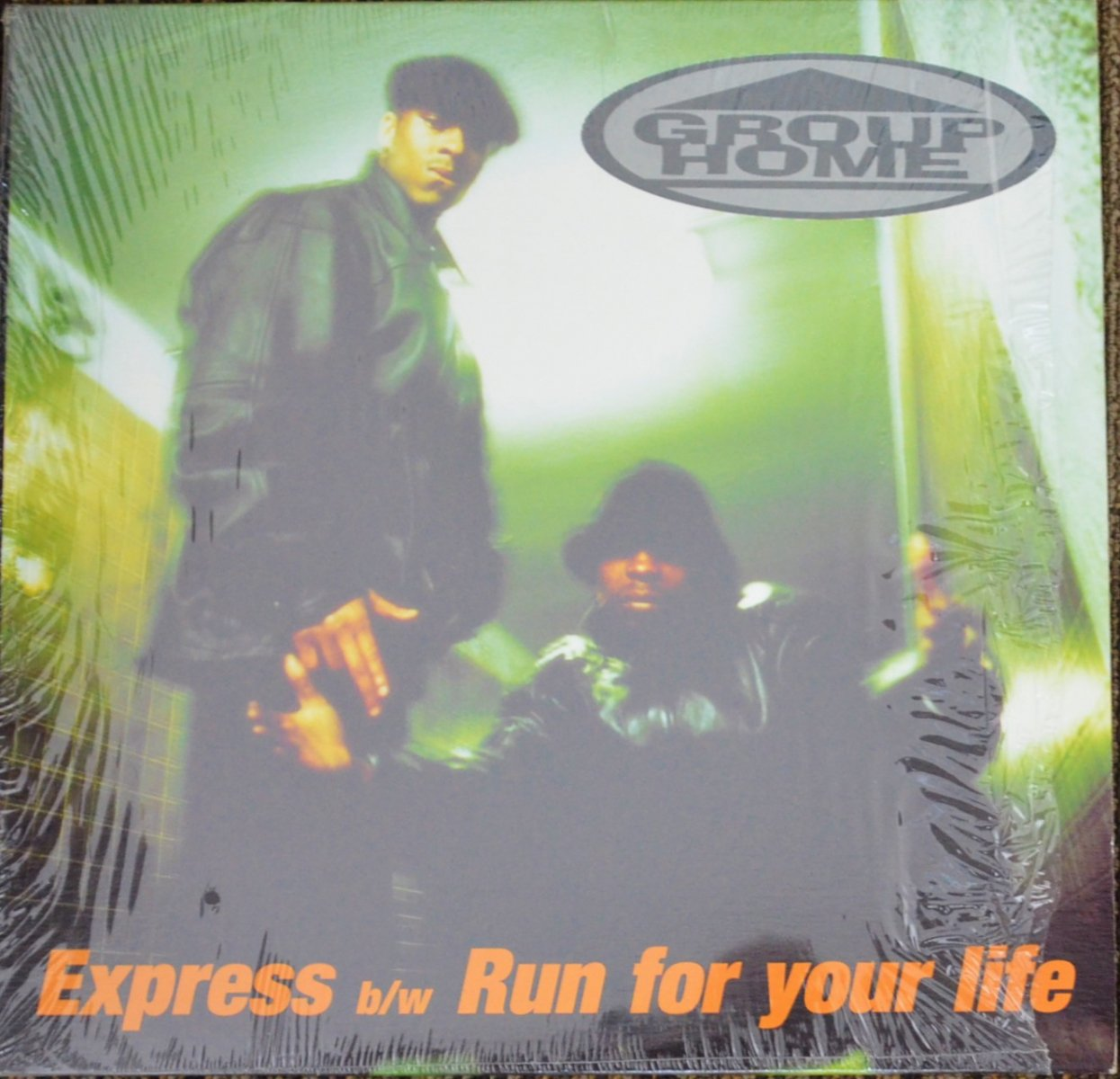 GROUP HOME ‎/ EXPRESS / RUN FOR YOUR LIFE (12