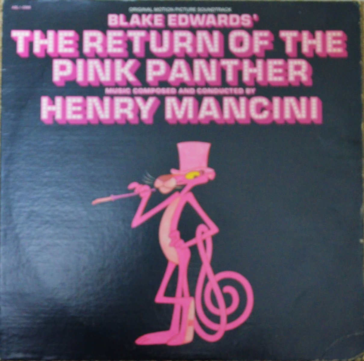 O.S.T. (HENRY MANCINI) ‎/ BLAKE EDWARDS' THE RETURN OF THE PINK PANTHER (LP)