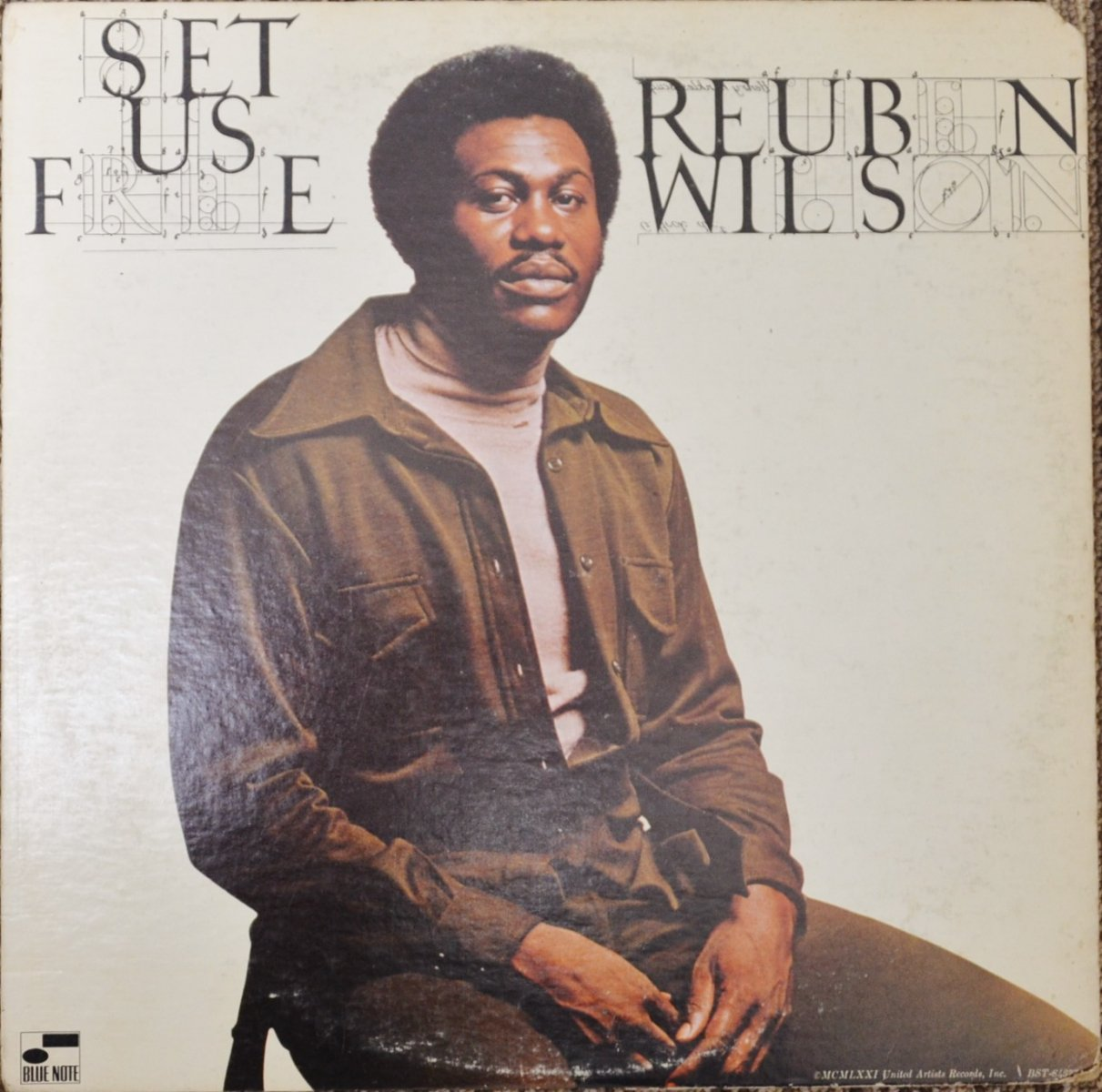REUBEN WILSON ‎/ SET US FREE (LP)