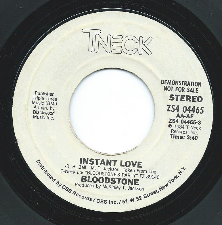 BLOODSTONE ‎/ INSTANT LOVE (7