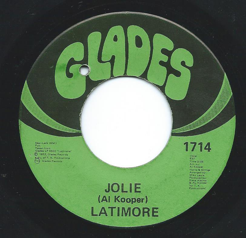 LATIMORE / JOLIE / THERE'S NO END (TO MY LOVE FOR YOU) (7