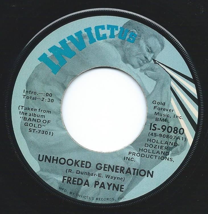 FREDA PAYNE / DEEPER & DEEPER / UNHOOKED GENERATION (7