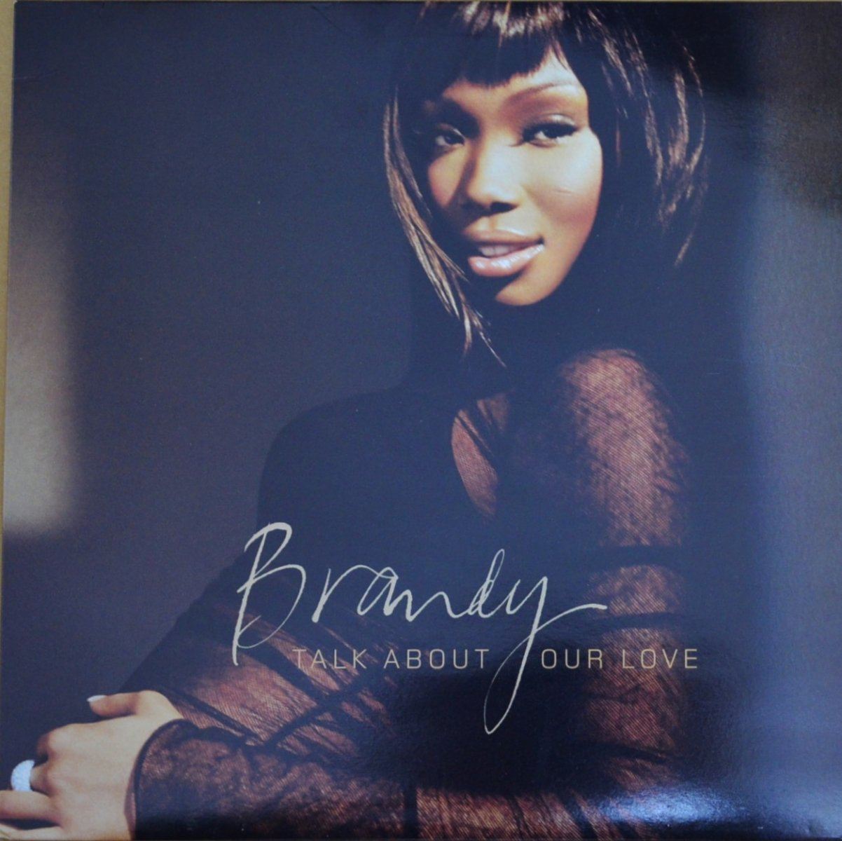 BRANDY / TALK ABOUT OUR LOVE (12