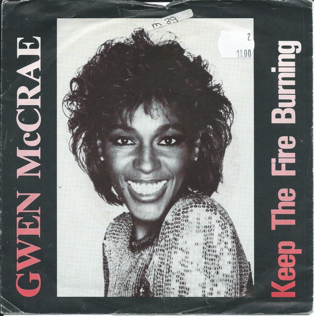 GWEN MCCRAE / KEEP THE FIRE BURNING / HANG IN (7