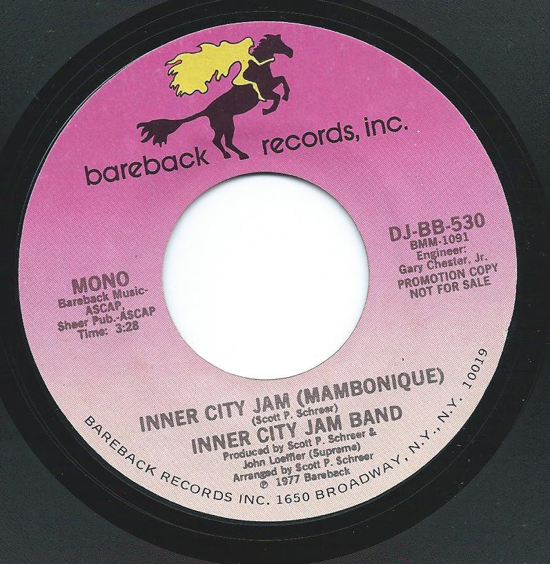 INNER CITY JAM BAND / INNER CITY JAM (MAMBONIQUE) (7