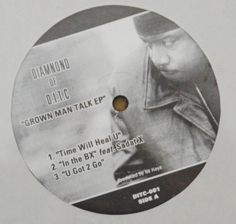 DIAMNOND OF D.I.T.C (DIAMOND D) / GROWN MAN TALK EP (12