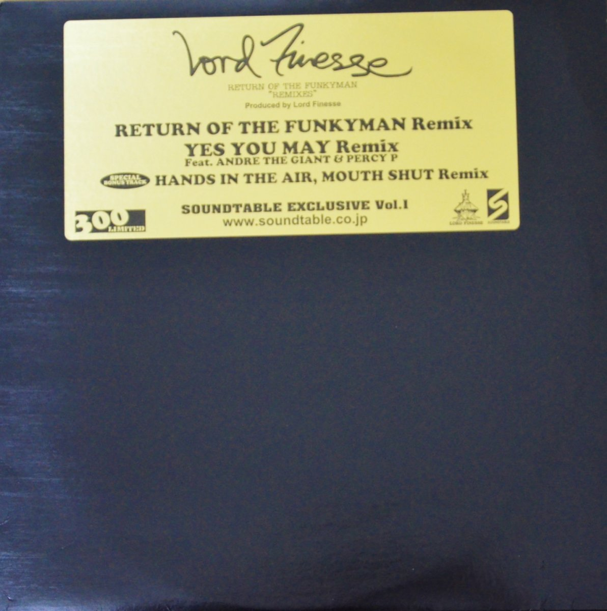 LORD FINESSE / RETURN OF THE FUNKYMAN