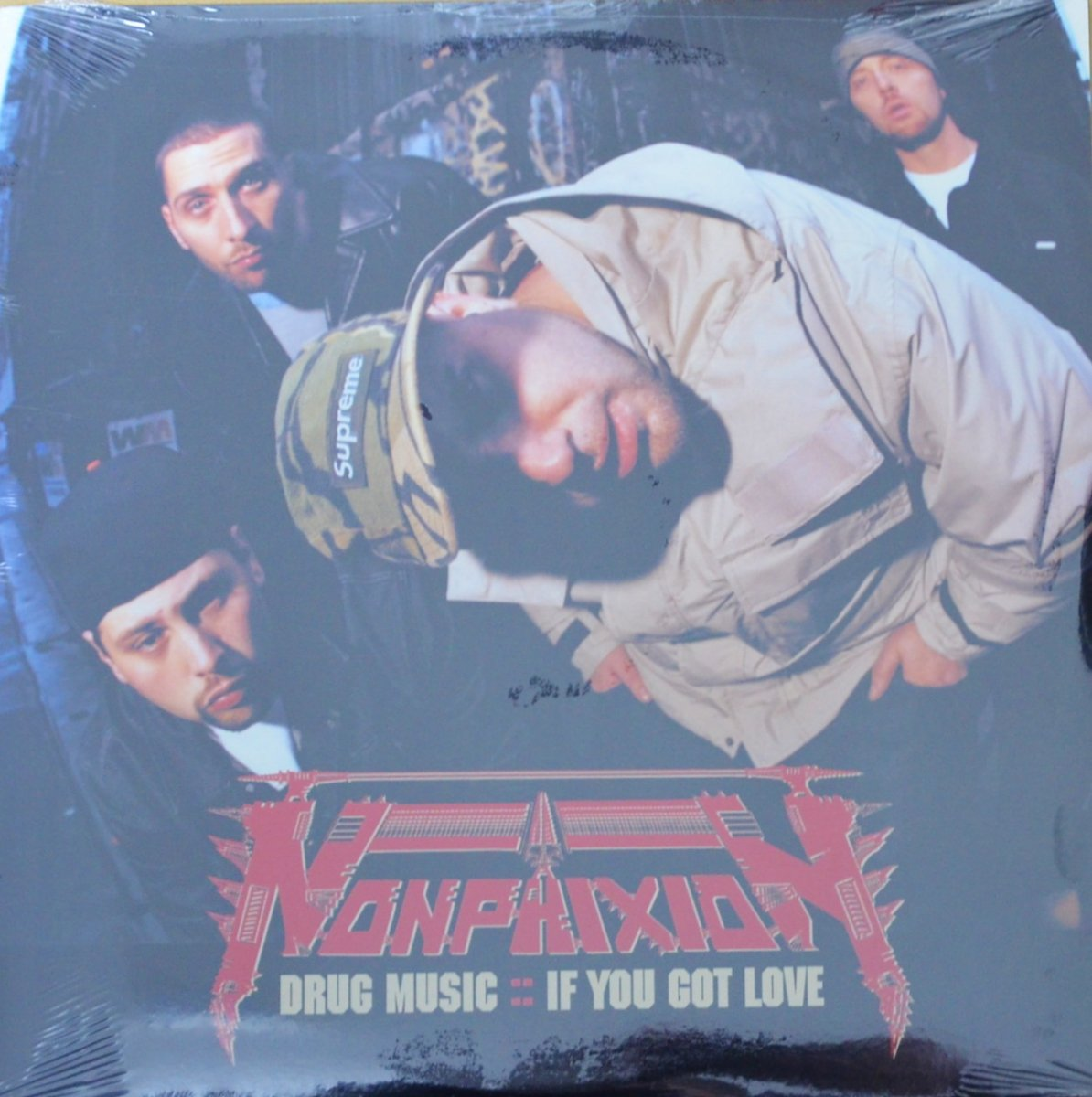 NON PHIXION / DRUG MUSIC (PROD BY LARGE PROFESSOR) / IF YOU GOT LOVE (PROD BY PETE ROCK) (12