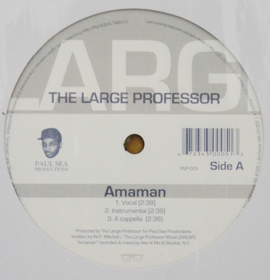 THE LARGE PROFESSOR / AMAMAN / BOWNE (12