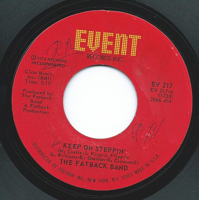 THE FATBACK BAND / KEEP ON STEPPIN' / BREAKING UP IS HARD TO DO (7