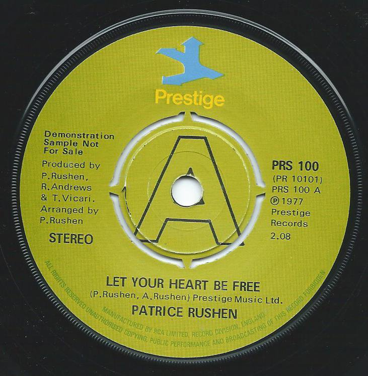 PATRICE RUSHEN / LET YOUR HEART BE FREE / SOJOURN (7