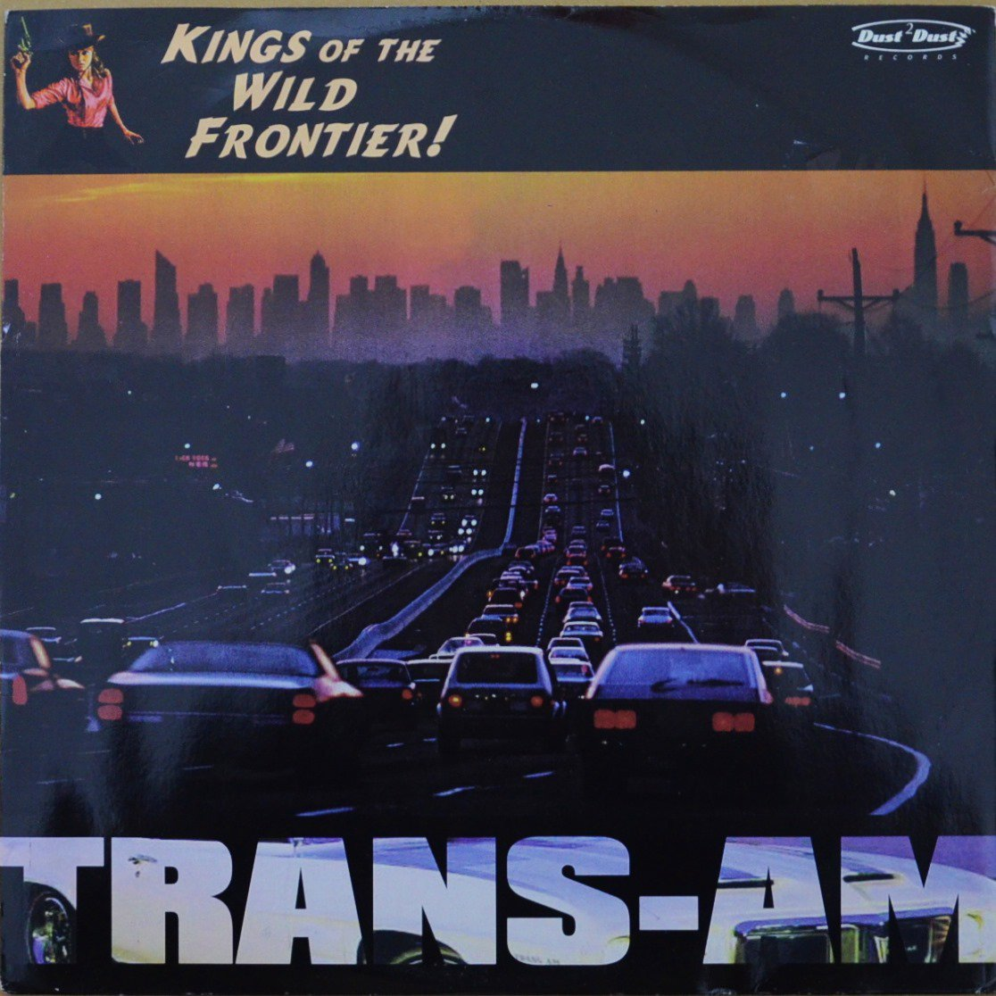 KINGS OF THE WILD FRONTIER / TRANS AM EP (12