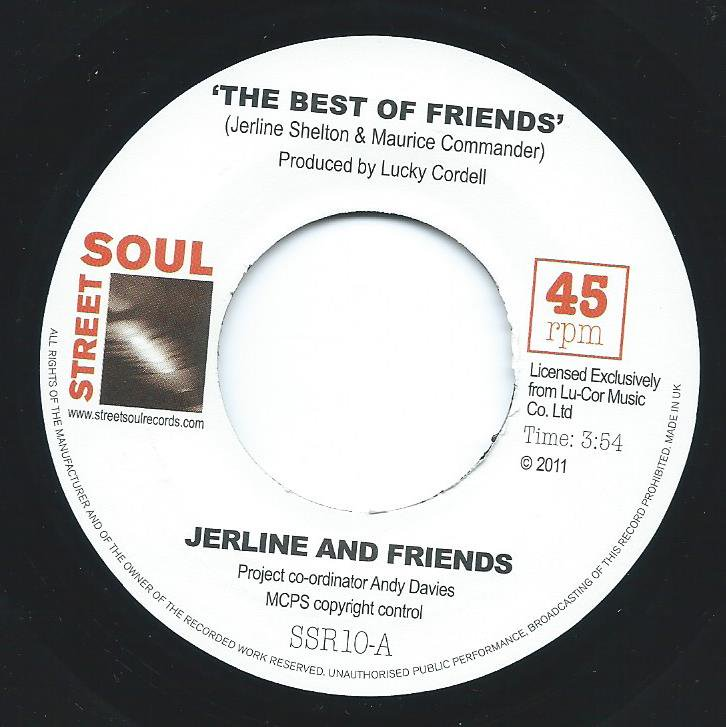 JERLINE AND FRIENDS / THE BEST OF FRIENDS / OPEN UP YOUR HEART (7