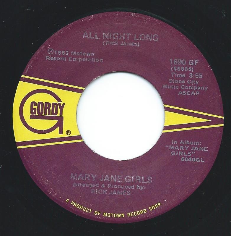 MARY JANE GIRLS / ALL NIGHT LONG (7