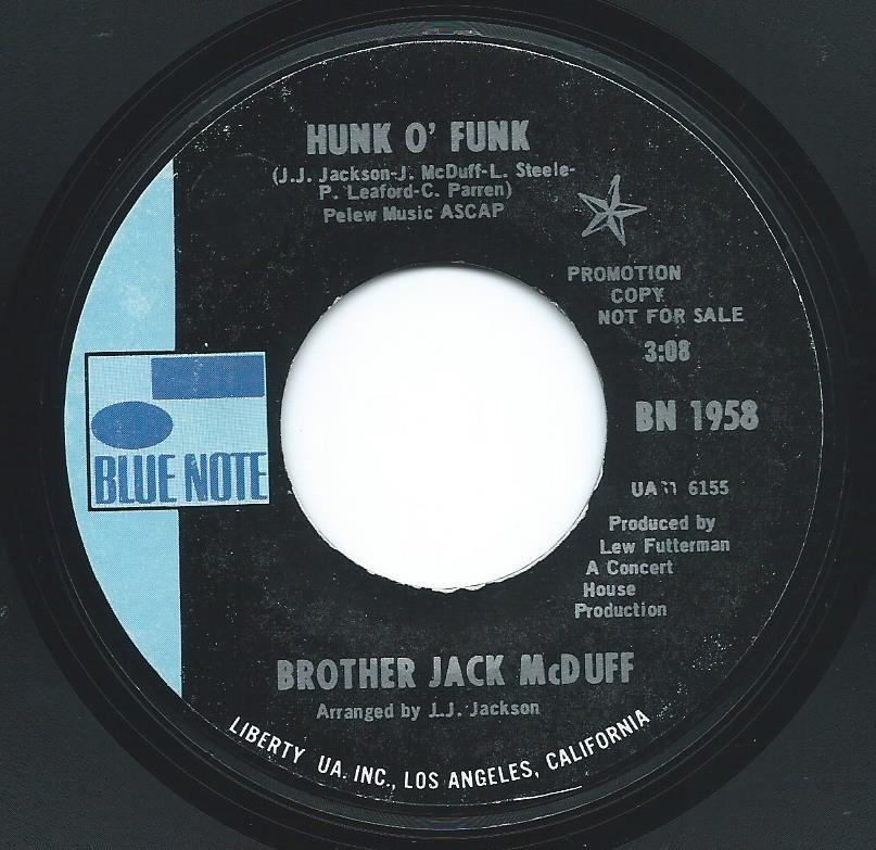 BROTHER JACK MCDUFF / HUNK O' FUNK / MYSTIC JOHN (7