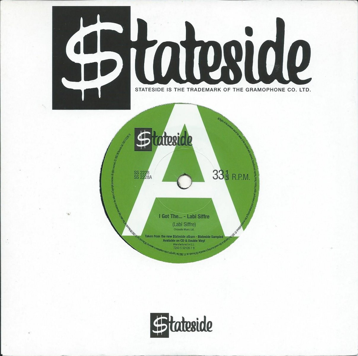 LABI SIFFRE / ALL THE PEOPLE / I GOT THE... / CRAMP YOUR STYLE (7