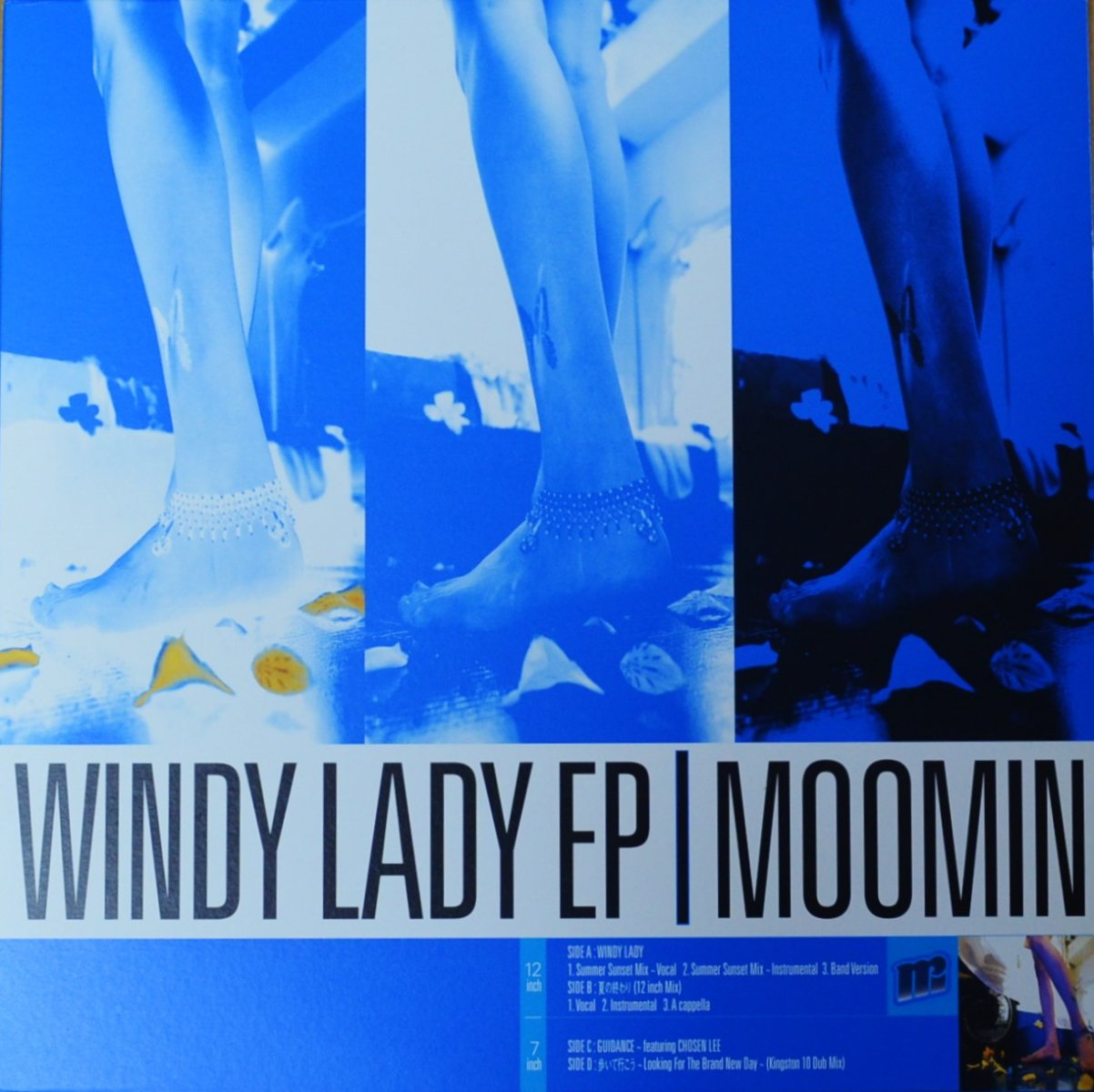 MOOMIN ‎/ WINDY LADY EP / 夏の終わり (PROD BY DEV LARGE) / GUIDANCE / 歩いて行こう (12