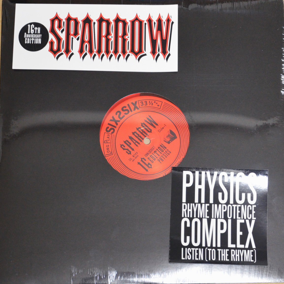 SPARROW / PHYSICS : REDUX (16TH ANNIVERSARY EDITION) (12