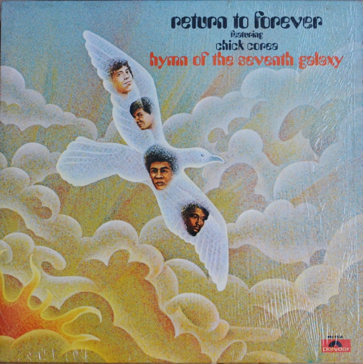 RETURN TO FOREVER FEATURING CHICK COREA ‎/ HYMN OF THE SEVENTH GALAXY (LP)