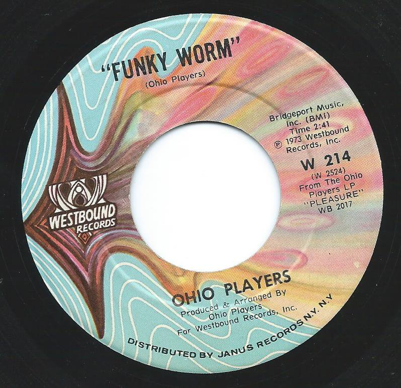 OHIO PLAYERS ‎/ FUNKY WORM / PAINT ME (7