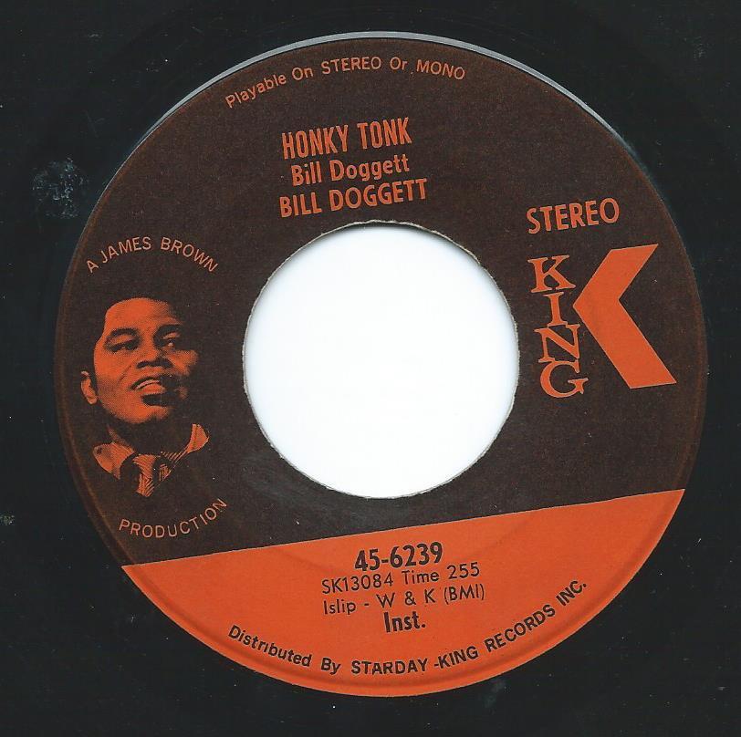 BILL DOGGETT / HONKY TONK POPCORN / HONKY TONK (7