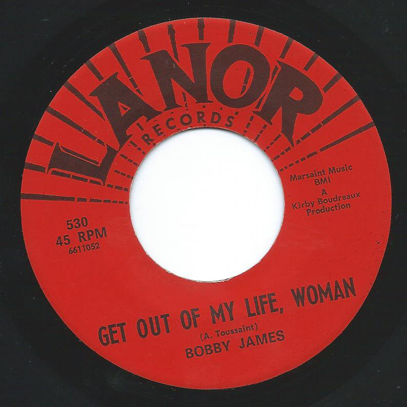 BOBBY JAMES / GET OUT OF MY LIFE WOMAN / FORTUNE TELLER (7