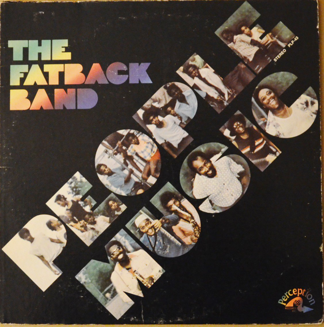 THE FATBACK BAND ‎/ PEOPLE MUSIC (LP)