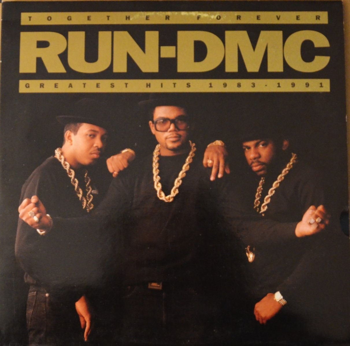 RUN-DMC ‎/ TOGETHER FOREVER - GREATEST HITS 1983-1991 (2LP)