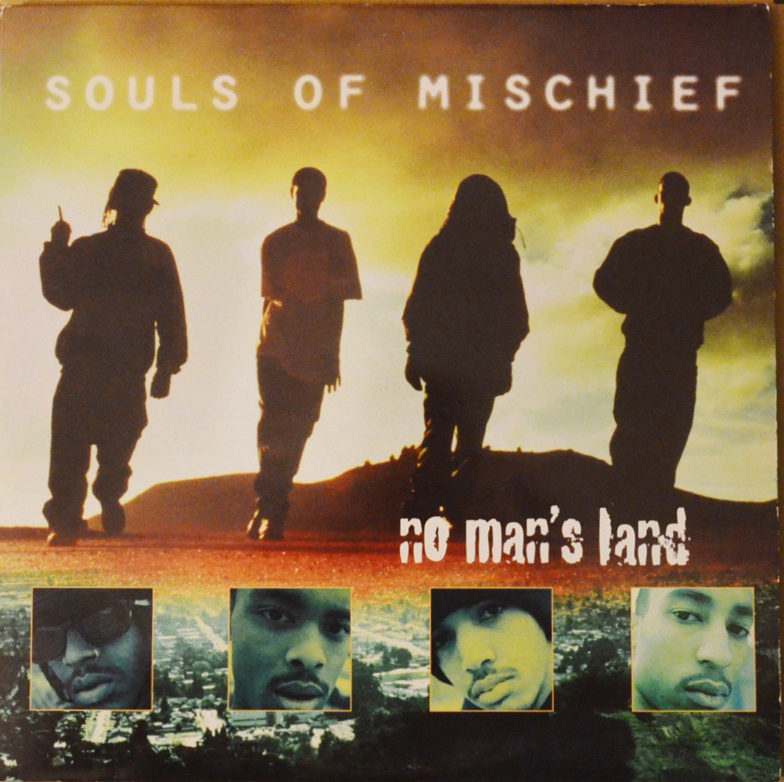 SOULS OF MISCHIEF ‎/ NO MAN'S LAND (2LP)