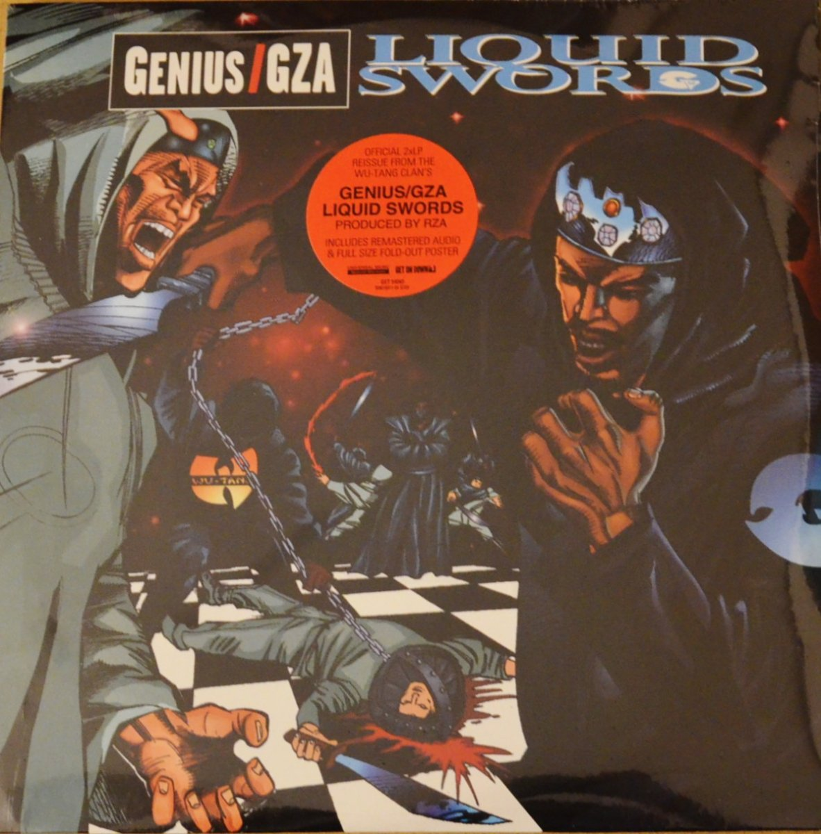 GENIUS / GZA / LIQUID SWORDS (2LP)