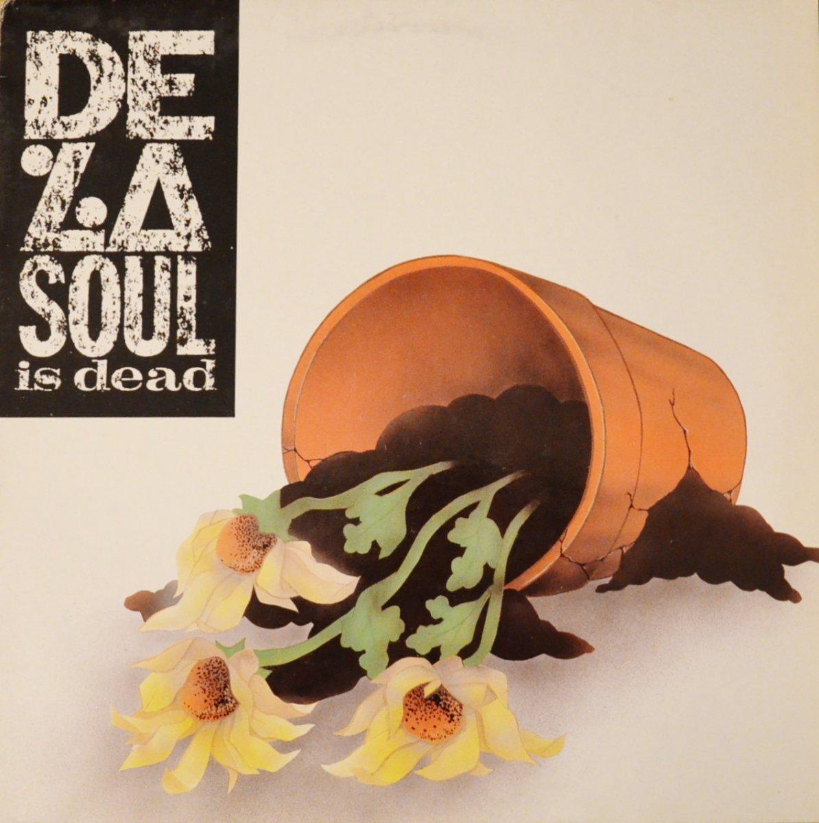 DE LA SOUL / DE LA SOUL IS DEAD (1LP)