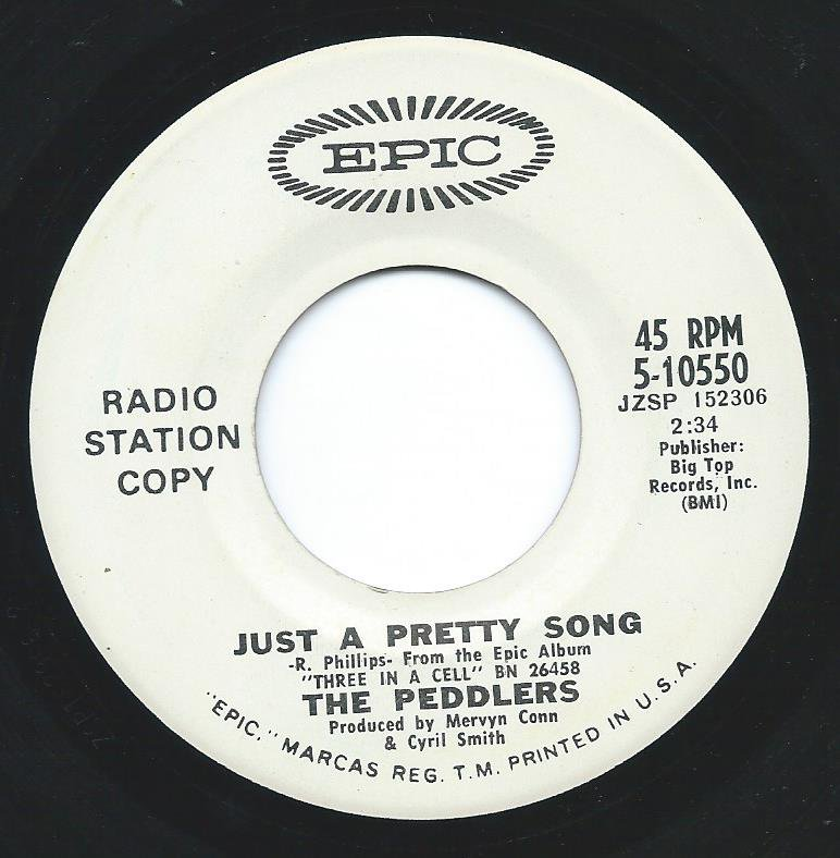 THE PEDDLERS / JUST A PRETTY SONG / BIRTH (7