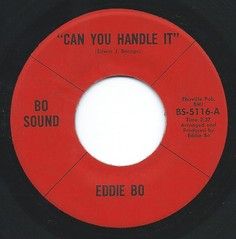 EDDIE BO ‎/ CAN YOU HANDLE IT / DON'T TURN ME LOOSE (7
