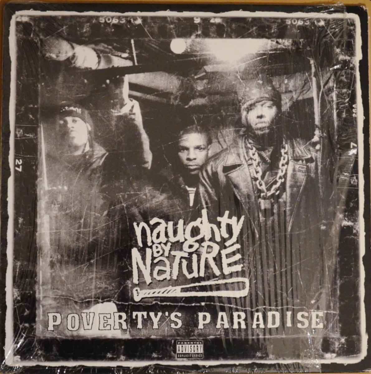 NAUGHTY BY NATURE ‎/ POVERTY'S PARADISE (1LP)