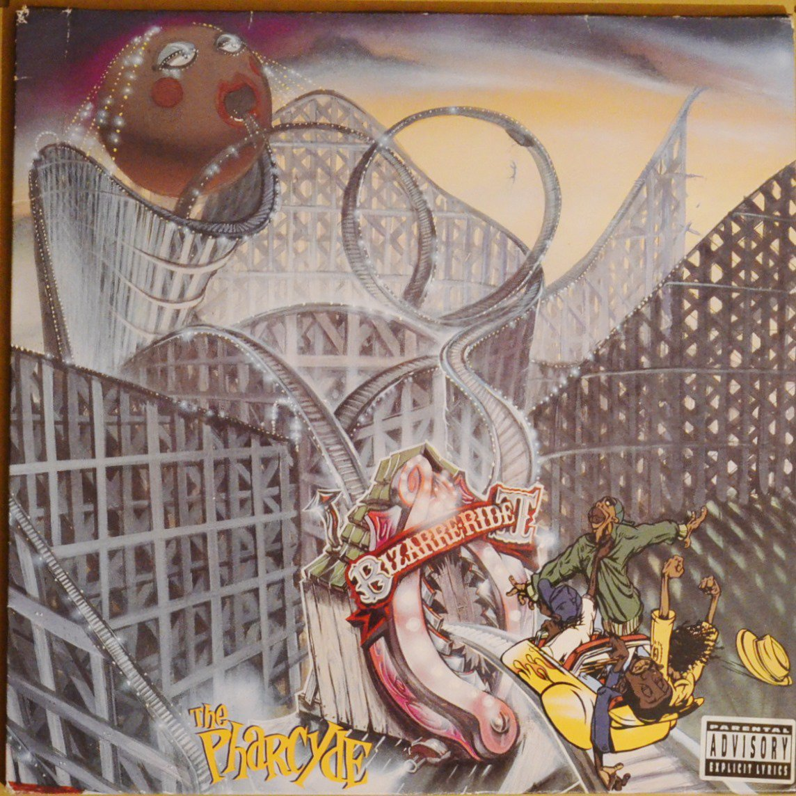 THE PHARCYDE ‎/ BIZARRE RIDE II THE PHARCYDE (2LP)