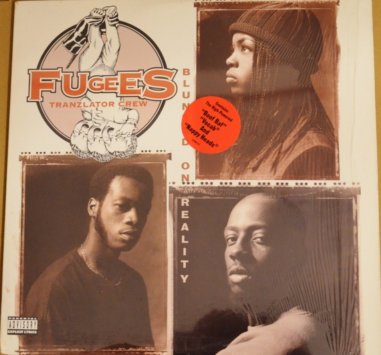 FUGEES (TRANZLATOR CREW) / BLUNTED ON REALITY (1LP)