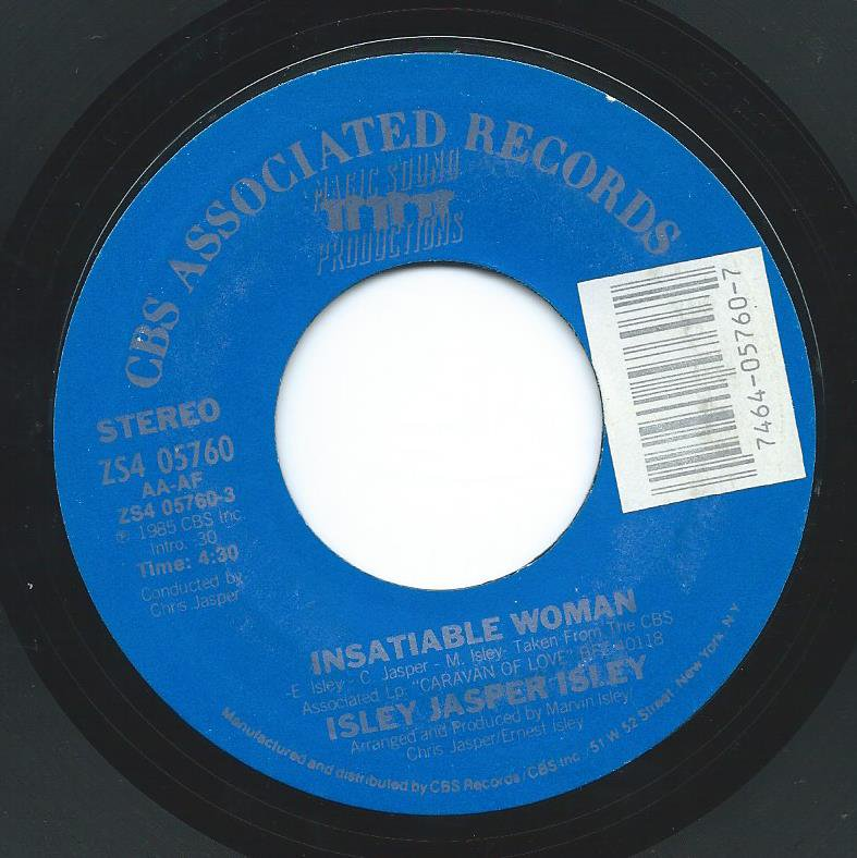 ISLEY JASPER ISLEY ‎/ INSATIABLE WOMAN / BREAK THIS CHAIN (7