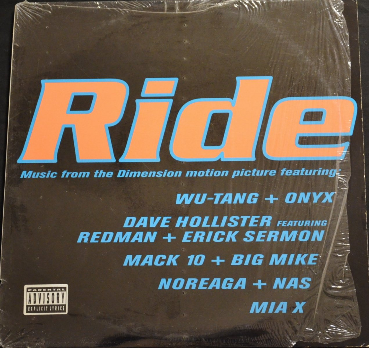 V.A. (WU-TANG CLAN,ADRIANA EVANS...) / RIDE (MUSIC FROM THE DIMENSION MOTION PICTURE) (2LP)